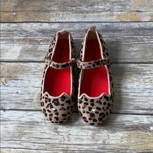 Carter's Leopard Mary Janes